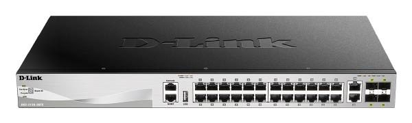 D-Link 30 port Stackable Gigabit Switch with 6 10GbE ports 1