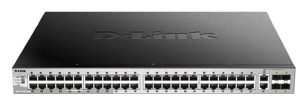 D-Link 54 port Stackable Gigabit PoE Switch with 6 10GbE ports 1