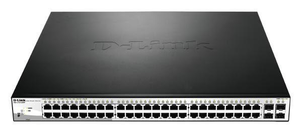 D-LINK DGS-1210-52MP 52-Port Gigabit WebSmart PoE Switch with 48 PoE UTP and 4 SFP Ports 1