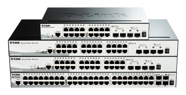 D-LINK DGS-1510-28P 28-Port Gigabit SmartPro PoE Switch with 24 UTP, 2 SFP and 2 SFP+ 10G Ports 1