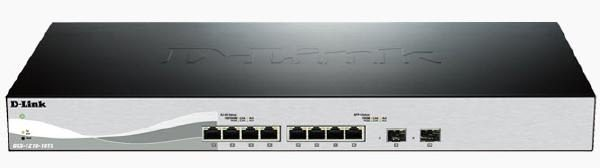 D-Link 10-Port 10 Gigabit WebSmart 3