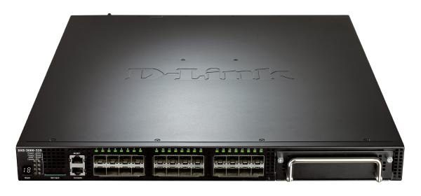 D-Link 32-Port 10 Gigabit Layer 3 Managed Stackable Switch with 24 SFP+ Ports and 1 Expansion Module Slot 1