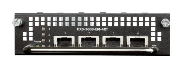 D-LINK DXS-3600-EM-4XT 4-Port 10GBASE-T Module for DXS-3600 series 1