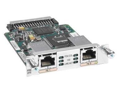 Cisco 2-Port 10/100 High Speed WAN Interface Card for Modular Routers 1