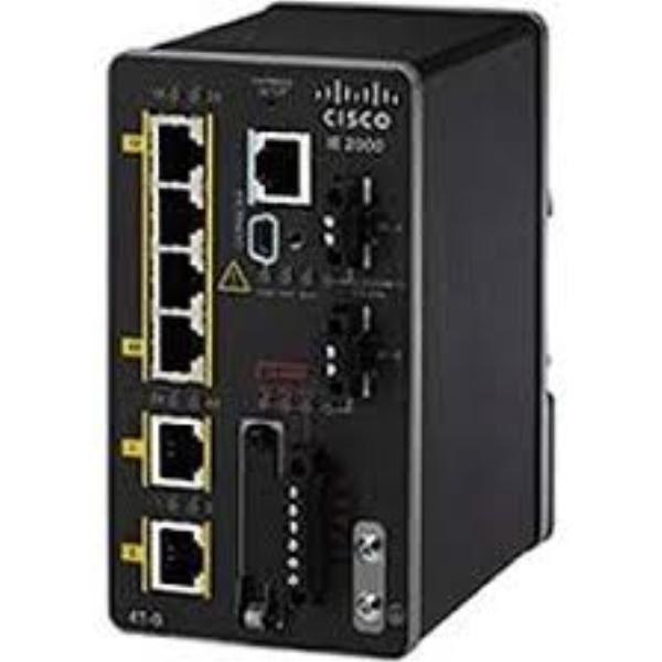 Cisco IE 4 10/100,2 SFP Gig port, Lite 1