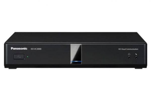 Panasonic KX-VC2000 New HDVC Main Unit - Full HD, 24 site multi point connection, Dual Stream, Multi (3) monitor support, Dual Network 1
