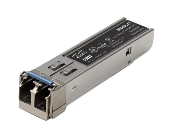 Cisco MGBLX1 Small Form-Factor Pluggable Gigabit Interface Converter for 1000BASE-LX Single Mode Fibre Links 1