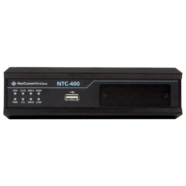 Netcomm NTC-400  4g LTE Cat6 Industrial M2M Router with Dual SIM Failover and Dual Band WiFi 1