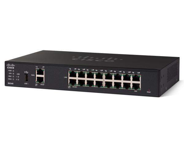 Cisco RV345 Dual WAN, 16 Port Gigabit VPN Security Router 1