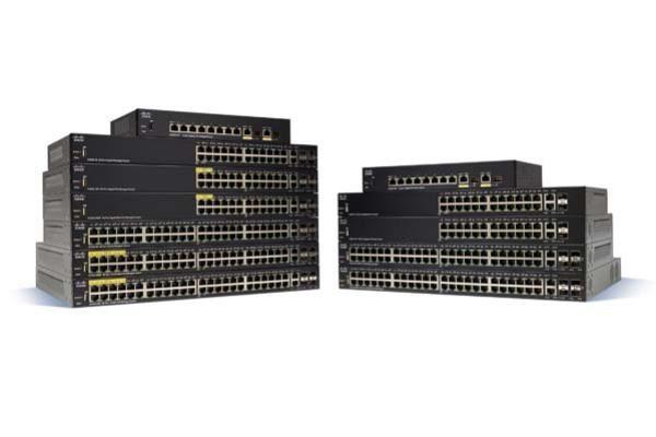 Cisco SG350-28SFP 28-port Gigabit Managed SFP Switch 1