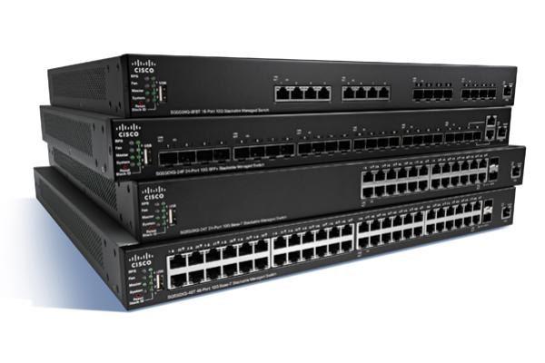 Cisco SG350X-48P 48-port Gigabit POE Stackable Switch, 382 Watts 1