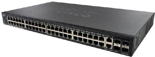 Cisco SG550X-48 48-port Gigabit Stackable Switch 1