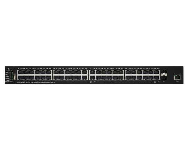 Cisco SG 550X 48-Port 10GBaseT Stackable 1