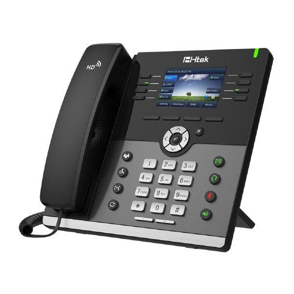 HTEK UC924 Gigabit Color IP Phone Up to 12 Sip Accounts 1