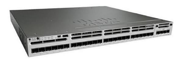 Cisco (WS-C3850-24S-S) CATALYST 3850 24 PORT GE SFP IP BASE 1