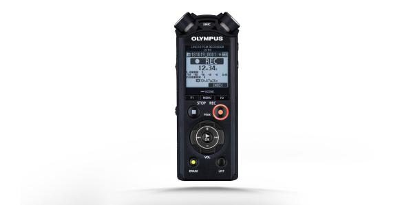 Olympus LS-P4 Voice recorder (music and Field Sound) 8GB internal storage - expandable to 32GB via microSD - With Bluetooth 1