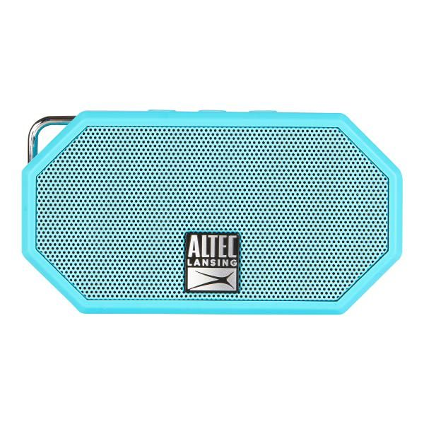 Altec Lansing Mini H20 3 Aqua Blue - EVERYTHING PROOF Rugged & waterproof Bluetooth speaker (6 hrs Battery, On-board microphone) 1
