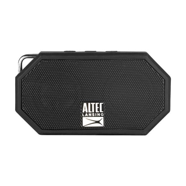 Altec Lansing Mini H20 3 Black - EVERYTHING PROOF Rugged & waterproof Bluetooth speaker (6 hrs Battery, On-board microphone) 1