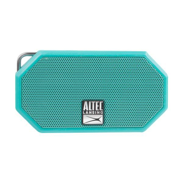 Altec Lansing Mini H20 3 Mint Green - EVERYTHING PROOF Rugged & waterproof Bluetooth speaker (6 hrs Battery, On-board microphone) 1