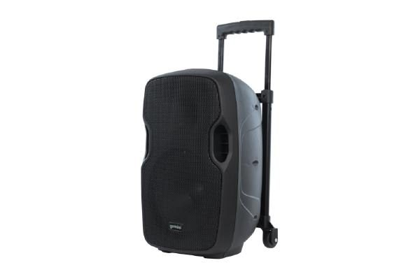 """Gemini AS-10TOGO Portable PA speaker system (10"""" Active battery-powered loudspeaker 