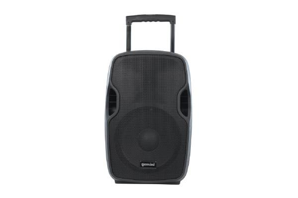 """Gemini AS-12TOGO Portable PA speaker system (12"""" Active battery-powered loudspeaker 