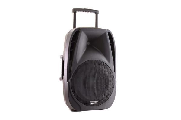 "Gemini ES-15TOGO Portable PA speaker system (15"" Active battery-powered loudspeaker   800W Peak Power   Bluetooth   2 x Wireless microphones) 1"
