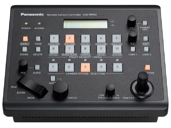 Panasonic AW-RP50E Remote Camera Control Panel 1