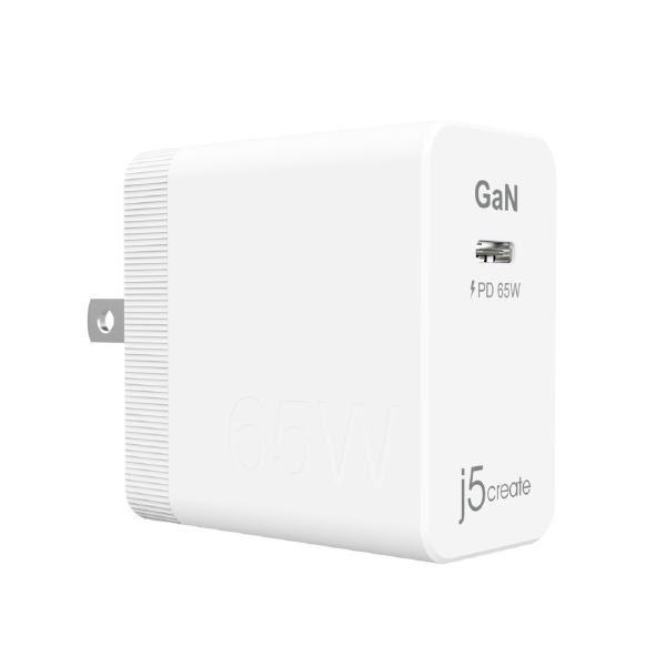 J5Create JUP1365 65W GaN PD USB-C Mini Charger 1
