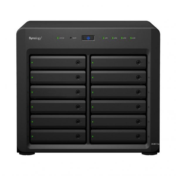 """Synology DiskStation DS3617xs 12-Bay 3.5"""" Diskless 2xGbE/10GbE* NAS (Scalable) (ENT) 1"""
