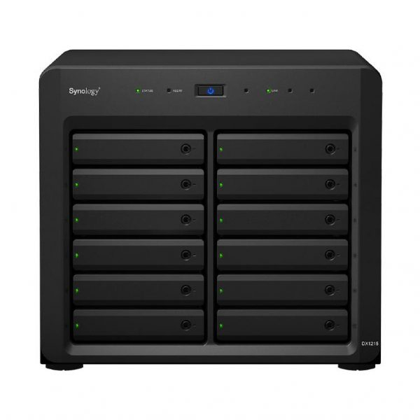 """Synology Expansion Unit DX1215 12-Bay 3.5"""" Diskless NAS for Scalable Models (SMB/ENT) 1"""
