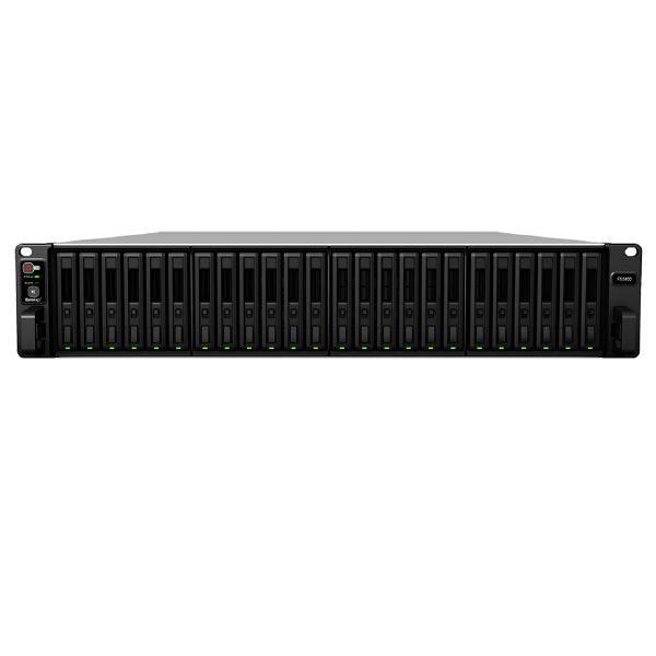 """Synology FlashStation FS3400 - 2U Rackmount, 24 Bay x 2.5"""" SAS SSD / HDD or SATA SSD, Scalable, 5 Year Warranty 1"""