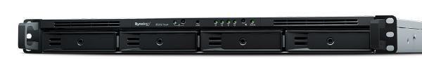 "Synology RackStation RS1619xs+ 4-Bay 3.5"" Diskless 4xGbE (1U Rack),Intel Xeon D-1527 quad core,2.2GHz,8GB DDR4 ,2xUSB3, Expansion port x 1 5 Yr SRS 1"