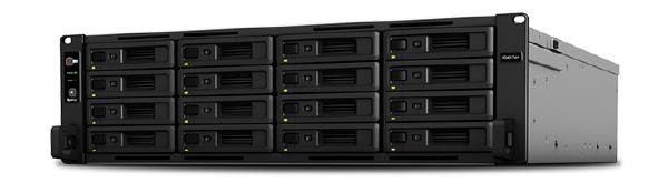 "Synology RackStation RS4017xs+ 16-Bay 3.5"" Diskless 4xGbE 2x10GbERJ45 (3U Rack),Intel Xeon D-15418core,8GB DDR4 ,2xUSB3, 2xExpansion 1"