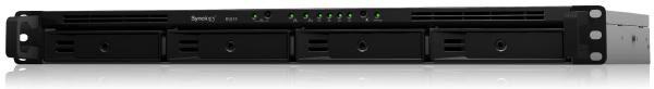 "Synology RackStation RS819 4-Bay 3.5"" Diskless 2xGbE NAS (1U Rack) (HMB), Realtek RTD1296 quad-core, 2GB RAM, 2xUSB3, eSATA x1,Scalable 1"
