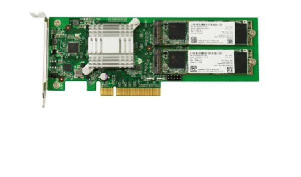 Synology M2D18 Adapter Card supporting M.2 SATA SSD in selected Synology NAS Models 1