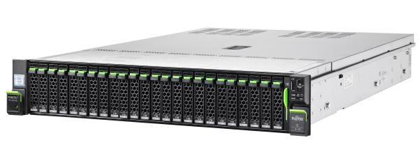 "Fujitsu RX2540 M5, Xeon Silver 4208 (1/2), 16GB DDR4-2933 R ECC (1/24), SSD/SAS/SATA 2.5"" (0/8), EP420i, IRMC, 800W (2/2) 1"