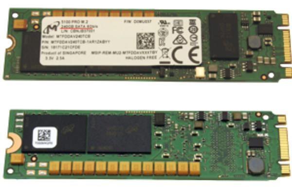 Fujitsu 240GB SSD M.2 SATA 6Gb (Non Hot-Plug, NOT suitable for VMware) 1