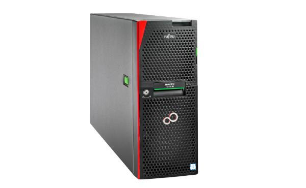 "Fujitsu TX2550 M5, XEON Silver 4208 8C (1/2), 16GB DDR4 -2933 R ECC (1/24), 2.5"" SATA/SAS (0/8), EP420i, IRMC, 800W (2/2), TOWER, 3YR ONSITE 1"