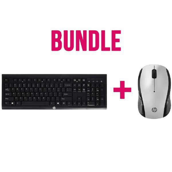 Bundle HP Wireless Keyboard and Mouse ( 2 boxes) 3DH83AA + E5E77AA 1
