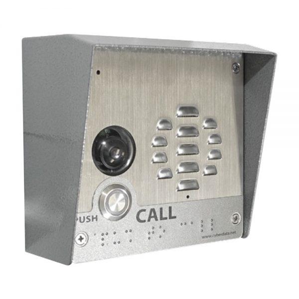 Cyberdata, SIP-enabled h.264 Video Outdoor Intercom 1