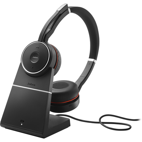 Jabra, EVOLVE 75 Stereo MS + charging stand 1
