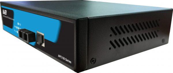 Alloy, 10/100/1000Base-T to 1000Base-SX Multimode 1310nm (ST) 802.3at PoE Media Converter. 2Km 1