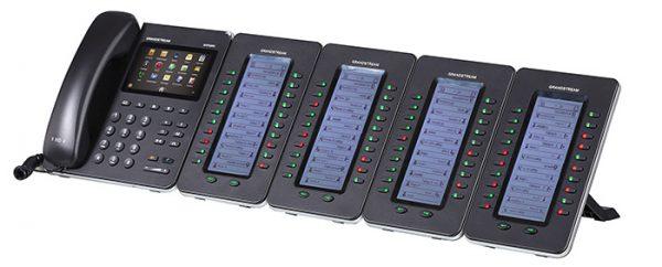 Grandstream, 20 key Expansion Module 128x384 LCD for GXP2140, GXP2170 & GXV3240 3