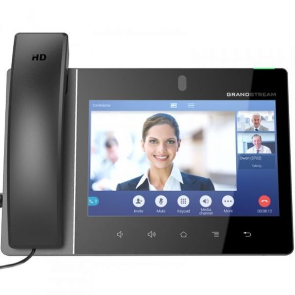 Grandstream, Android based Video IP Phone 8'' (1280x800) touch screen, Android V7.x, PoE, WiFi, BT 1