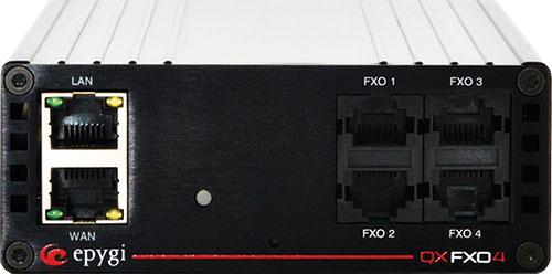 Epygi, QXFXO4, 4 Port FXO Gateway 1