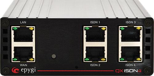 Epygi, QXISDN4, 4 Port BRI ISDN Gateway 1