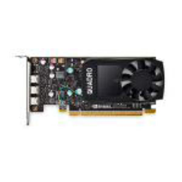 Leadtek Quadro P400 Work Station Graphic Card PCIE 2GB DDR5, 3H (mDP), Single Slot, 1xFan, ATX, Low Profile 3