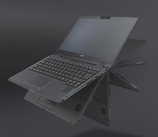 "Fujitsu LIFEBOOK U939X Convertible Notebook i7-8665U, 16GB RAM, 1TB SSD, 13.3""FHD Touch, W10P, Black 1"