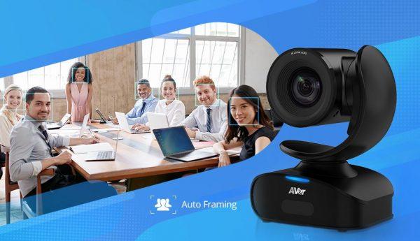 Professional Plug-N-Play USB 4K Camera, 16X Zoom, Auto Framing - 3 Year Warranty 1