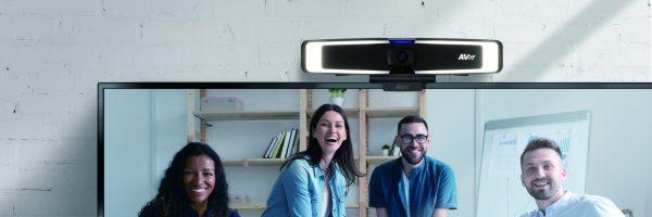 AVer VB130 4K Video Bar With Intelligent Lighting For Huddle Rooms 3